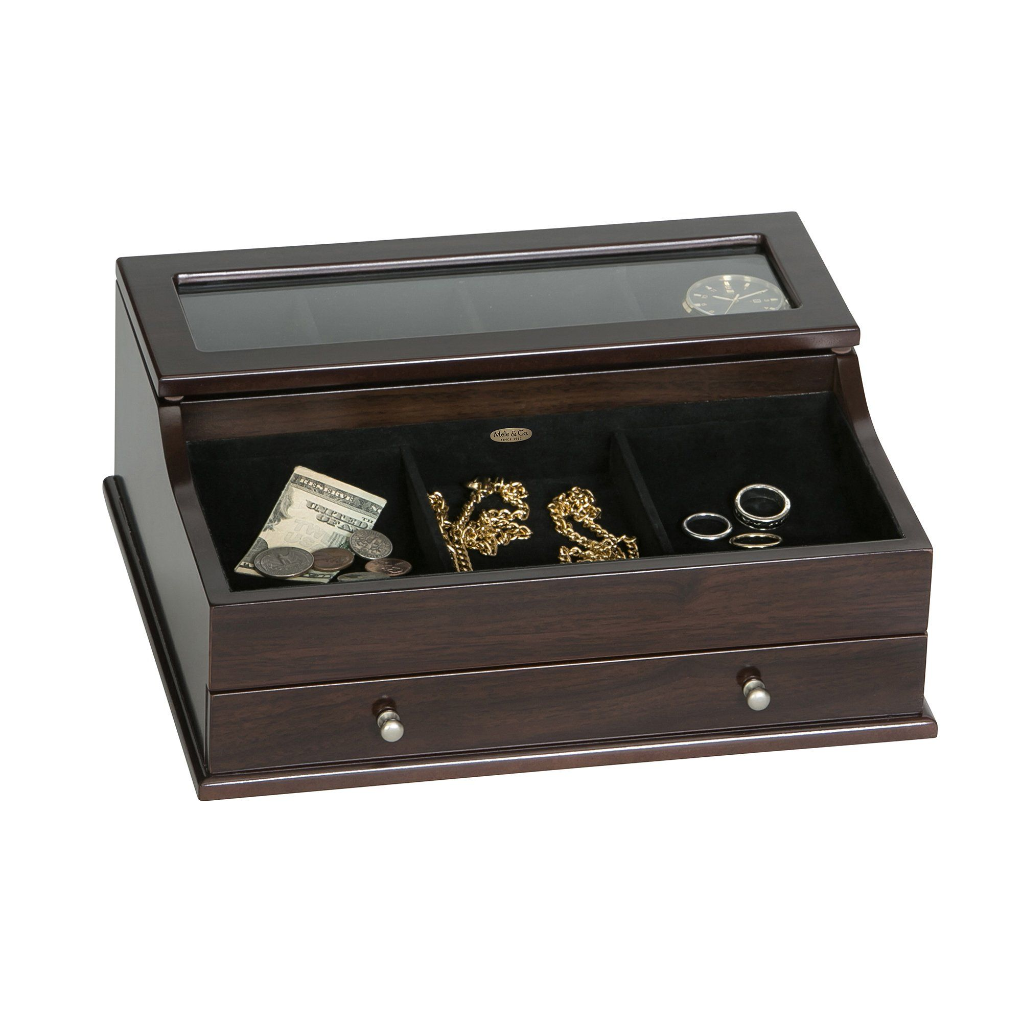 Hampden Mens Jewelry Box Jewlery Box Men Mele Co Jewelry Box Hampden Mens Jewelry Box Mens Jewelry Box Wooden Dresser Mens Jewelry