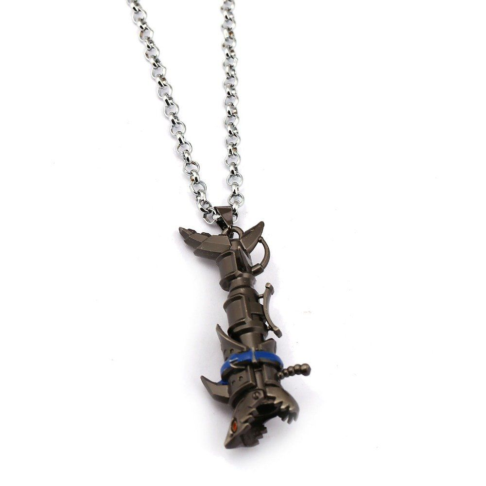 LOL League of Legends The Loose Cannon Jinx/'s cosplay weapon Necklace Pendant