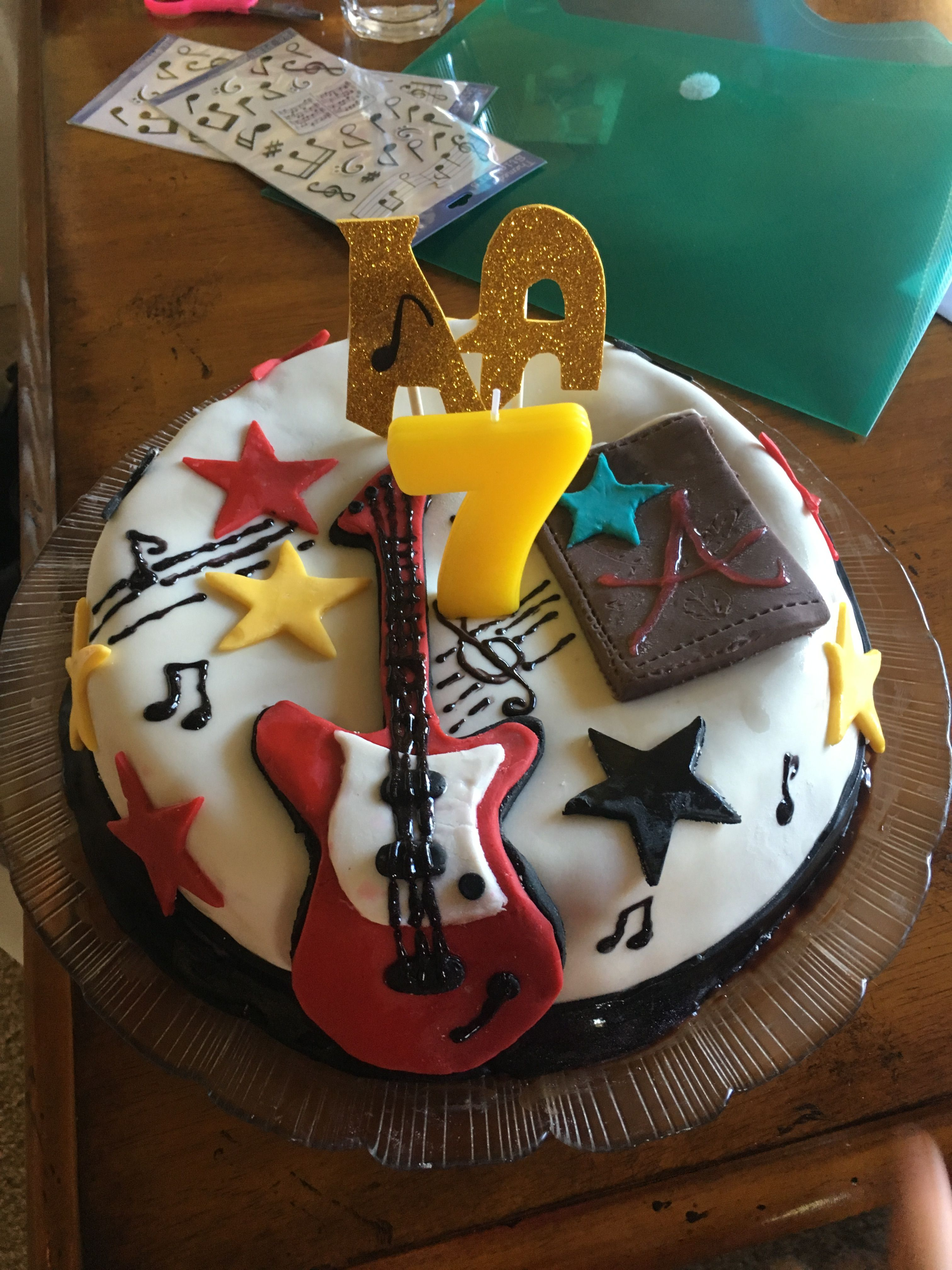Terrific Austin And Ally Birthday Cake With Images Birthday Birthday Funny Birthday Cards Online Fluifree Goldxyz