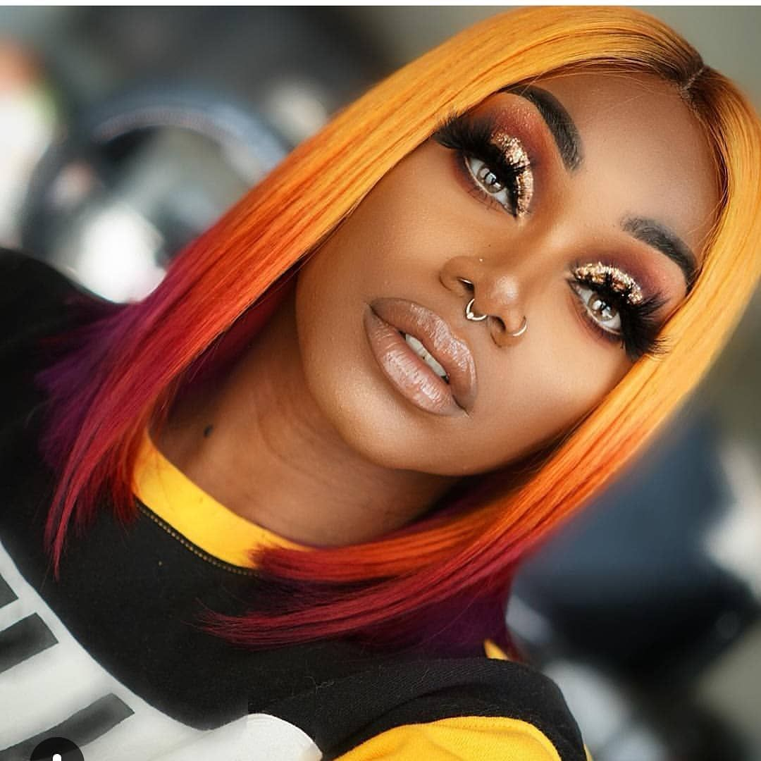 Slayershive Sh On Instagram Peanut Butter Jelly Hair Glam By Redfairyy Natural Hair Styles Hair Styles Womens Hairstyles