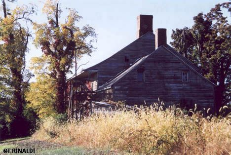 The Halleck House in Milton, NY. This house was fired on by the British during the American Revolution.