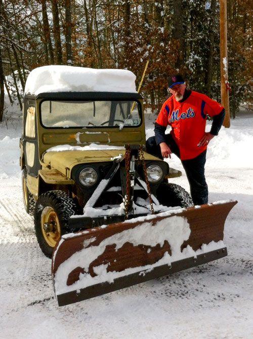 Snow Plows For Jeep Wranglers : plows, wranglers, Custom, Wrangler,, Vintage, Jeep,, Willys