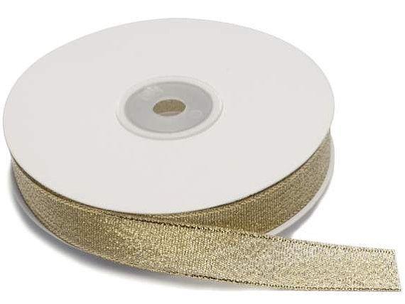Ribbon White Polka Dots Satin 1 width 25 mt Bulky Roll