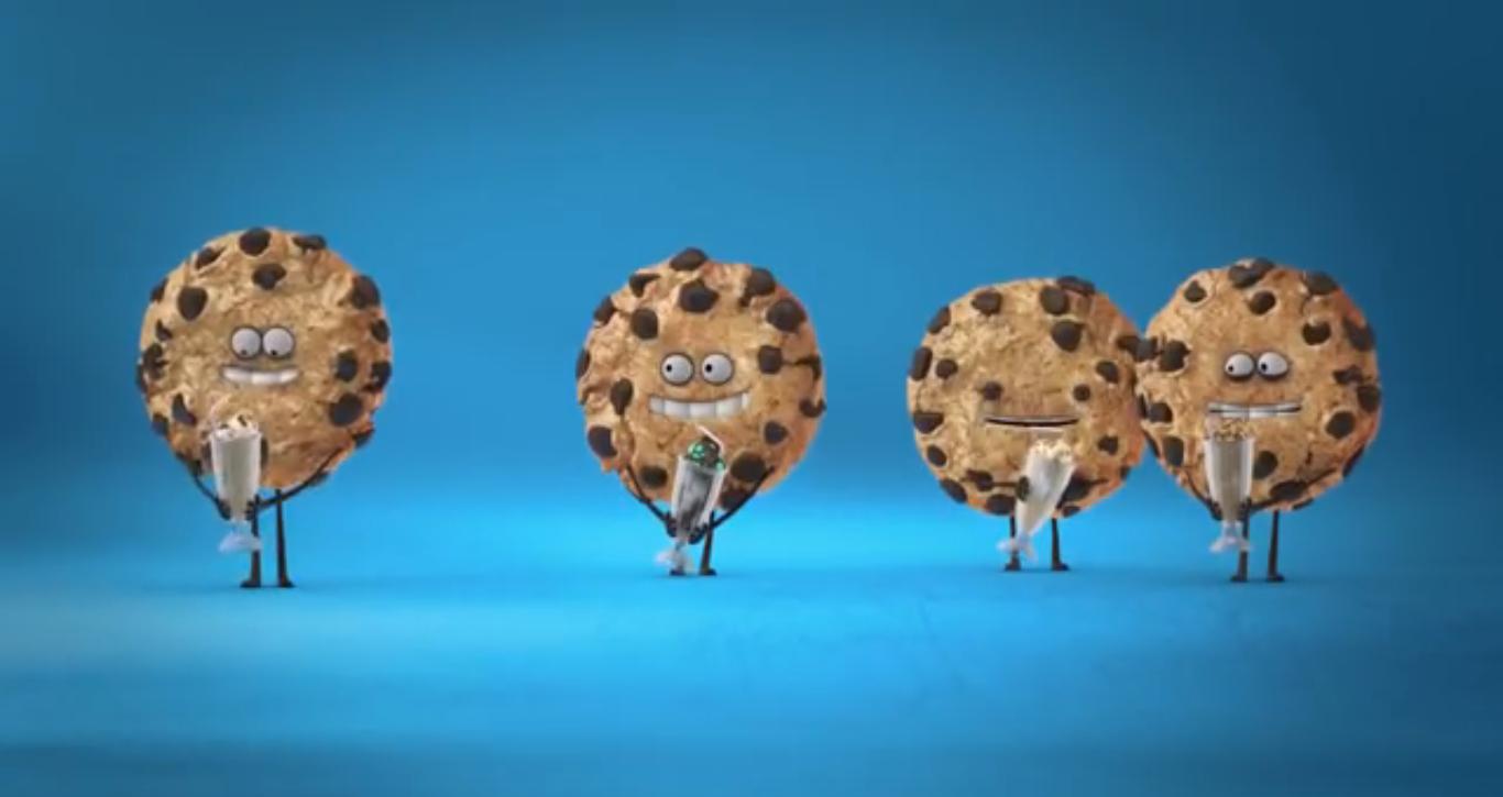 クッキーのCM