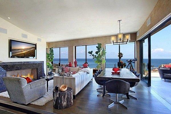 Incroyable Luxury Beach House, Laguna Beach, California   Ocean Views Living Room