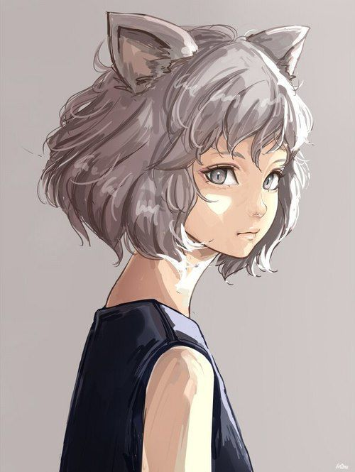 Cartoon Introvert Girl Wallpaper Pintrest Guys With Wolf Ears Anime 710 Best Images About