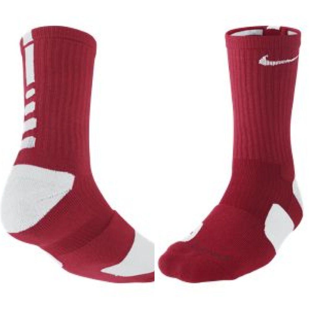 Nike Elite socks red | Sock shoes, Nike