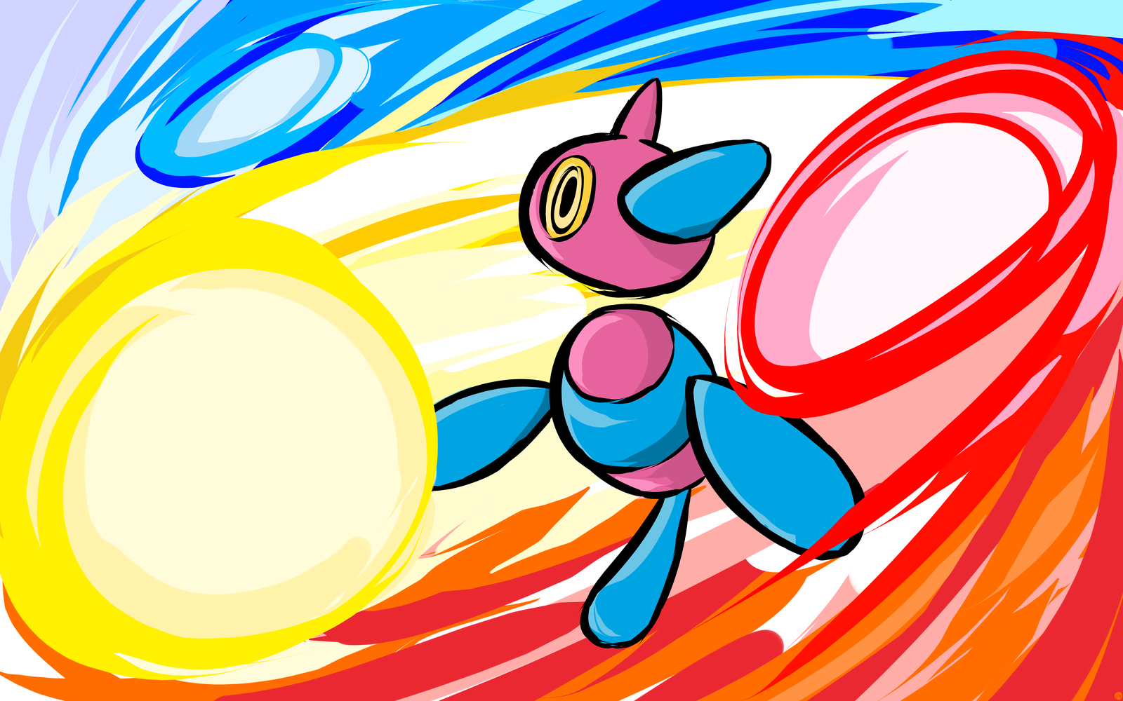 Porygon-Z | Tri-Attack by ishmam.deviantart.com on @DeviantArt