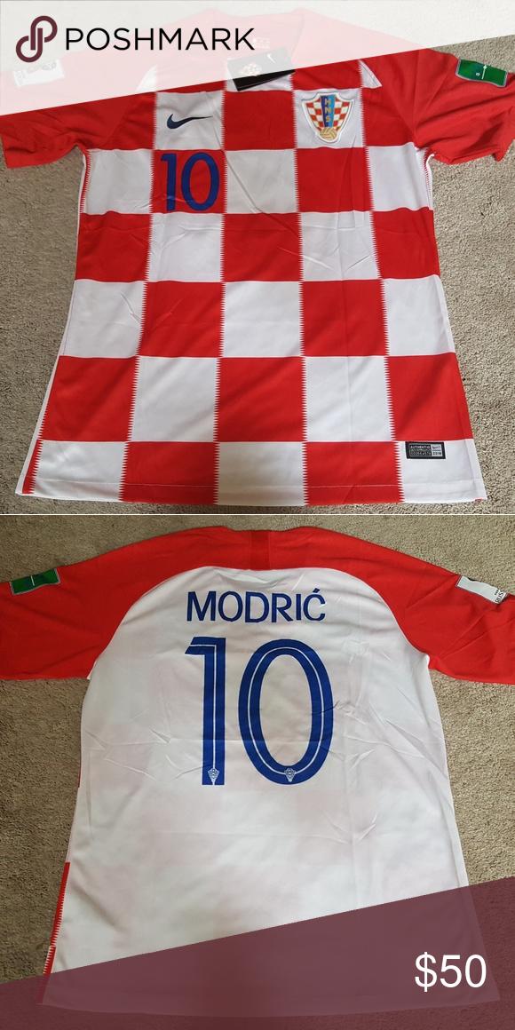 official photos e2f05 4f9b8 Luka Modric Croatia World Cup Jersey New XL Mens XL Brand ...