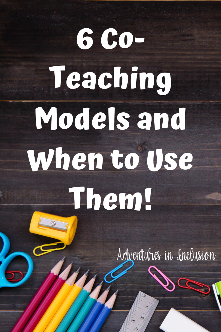 6 Effective CoTeaching Models, and When to Use Them is part of Co teaching, Teaching, Special education resources, Teaching kids, Teaching tips, Child therapy - 6 Effective coteaching models, the pros and cons to each one, and advice on when to use them