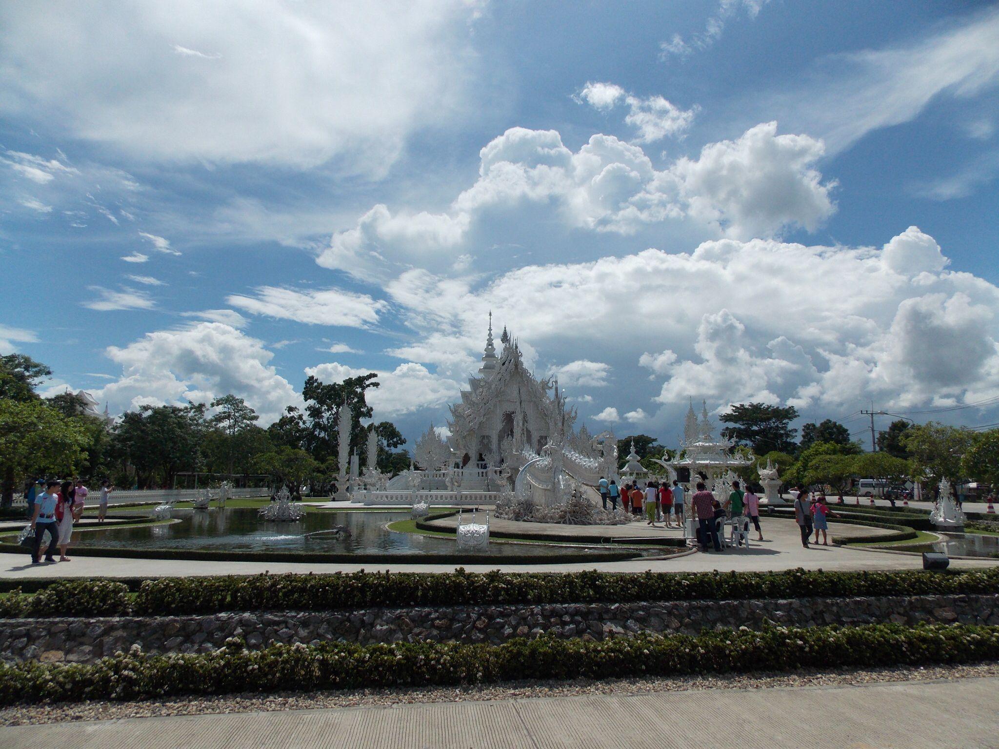 Temple blanc, Thaïlande (crédit photo Désirée Hatem)