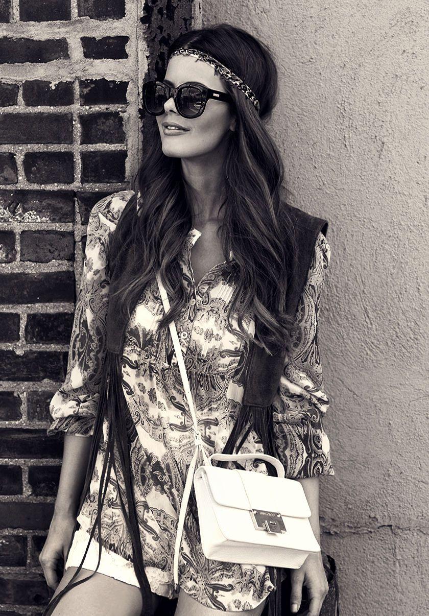 nettenestea annette haga outfit hippie look mote blogg antrekk new york juni 2014