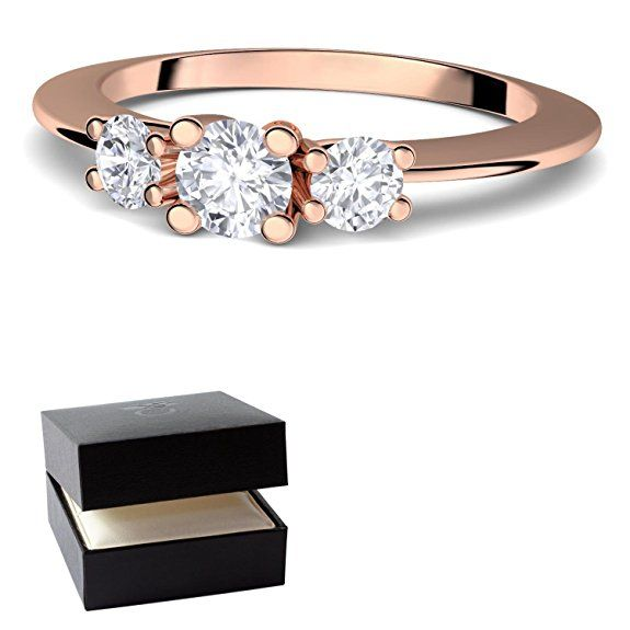 swarovski ring verlobungsringe rosegold silber 925. Black Bedroom Furniture Sets. Home Design Ideas