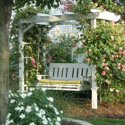 Genial English Cottage Garden Pergola | Cinnamon Rose Cottage