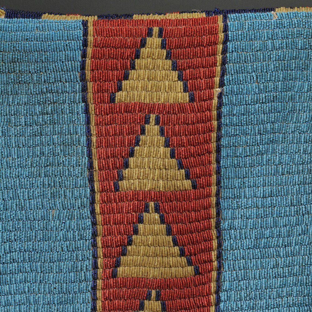 Northern Arapaho Beaded Hide Woman's Dress