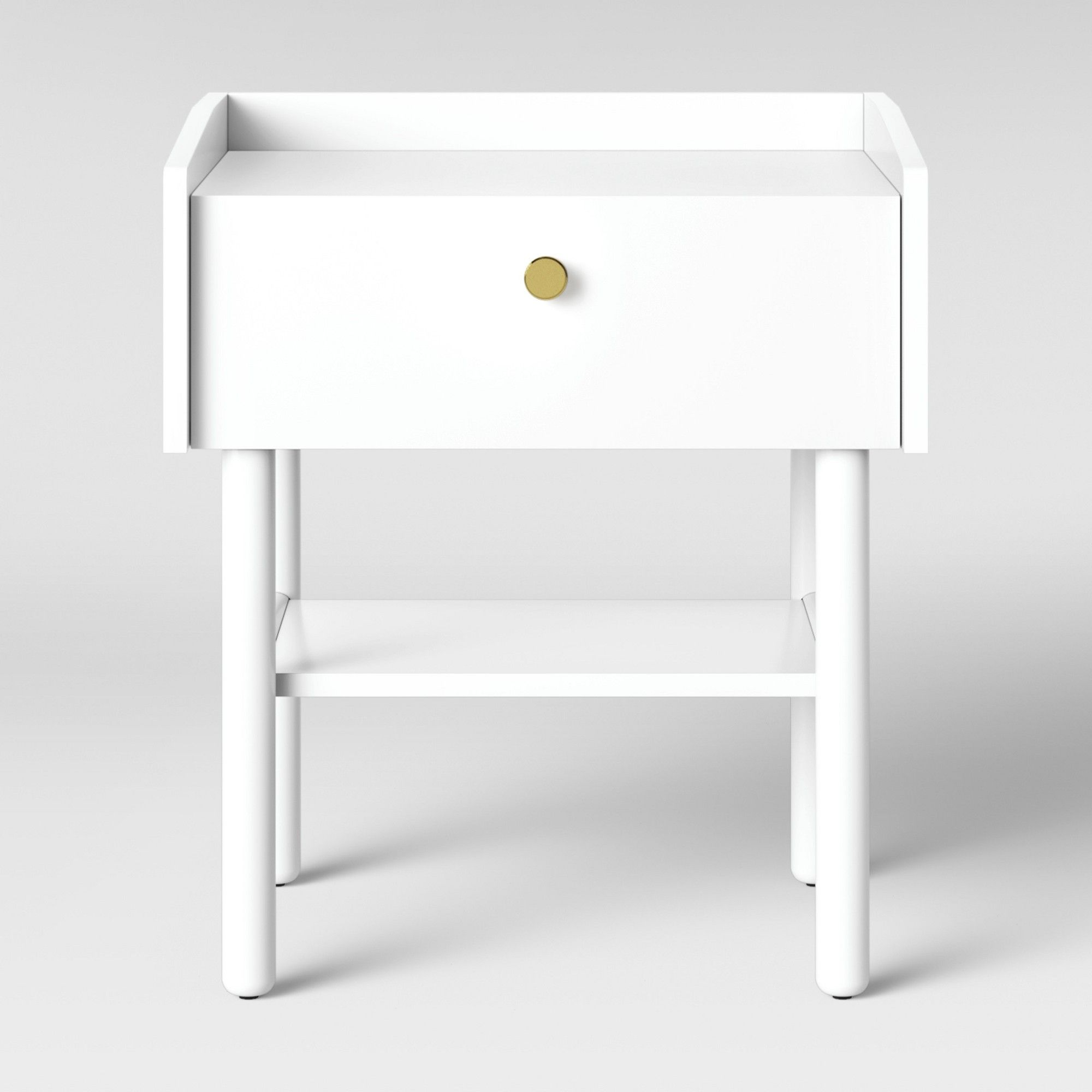 Wiley Side Table White - Project 62 , Size: Assembly Required ...