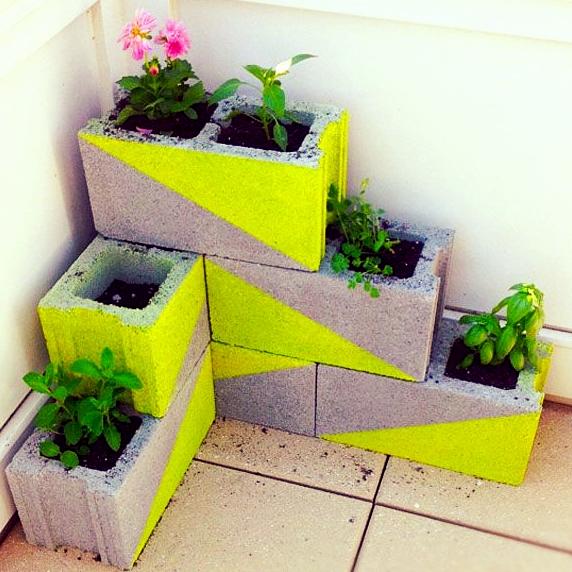 Pots et Cache-pots pour un jardin intérieur