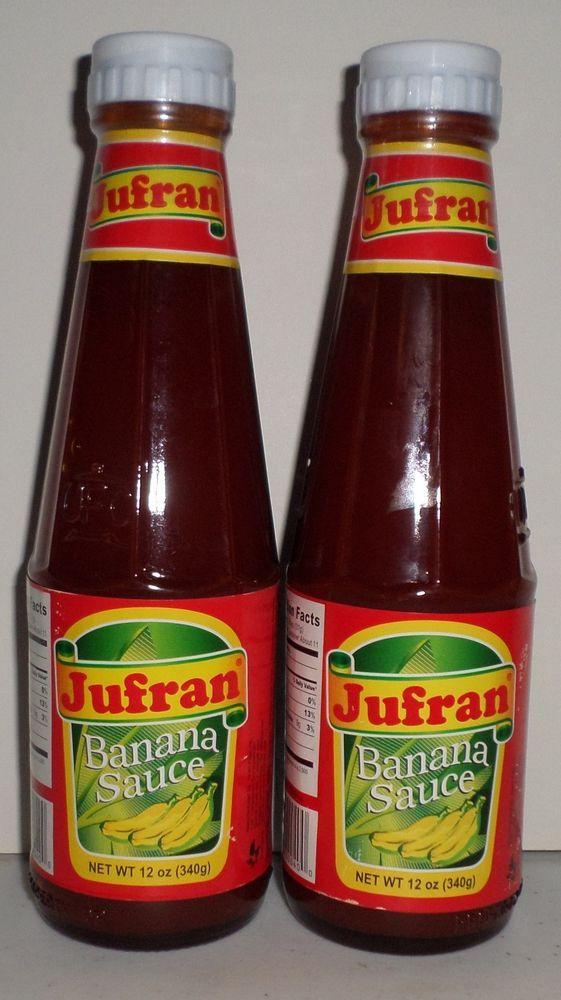 Jufran Banana Sauce Two 12 Oz Bottles Banana Catsup Ketchup