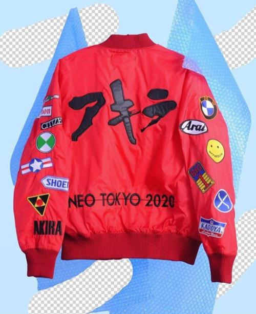 Akira Bomber Jacket  a257b43dae