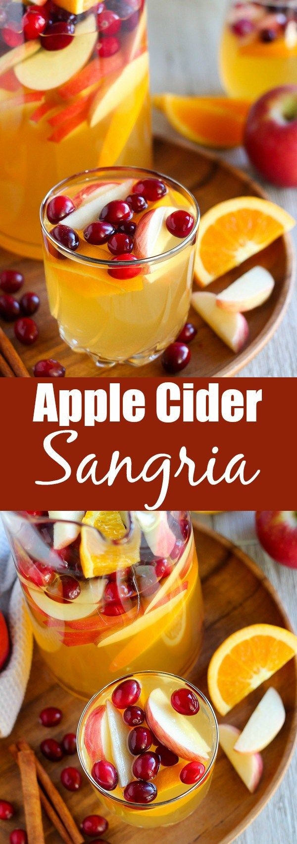 Apple Cider Sangria: The Perfect Fall Cocktail - Celebrating Sweets