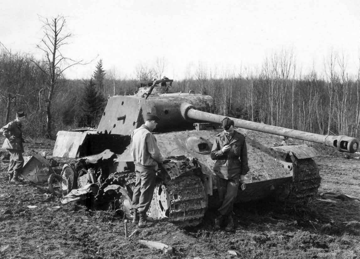 How does the German tank Panther 37