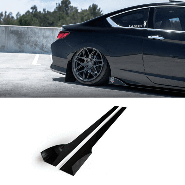 2013 2017 Honda Accord Side Skirt Extension V2 Coupe Aeroflowdynamics In 2020 Honda Accord Honda Accord Coupe 2017 Honda Accord