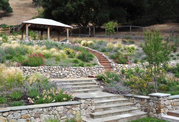 Landscape Design Inspiration For A Hilly Garden Hillside