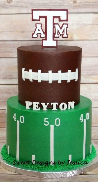 Football Cake Cakes and Cupcakes for Kids birthday party