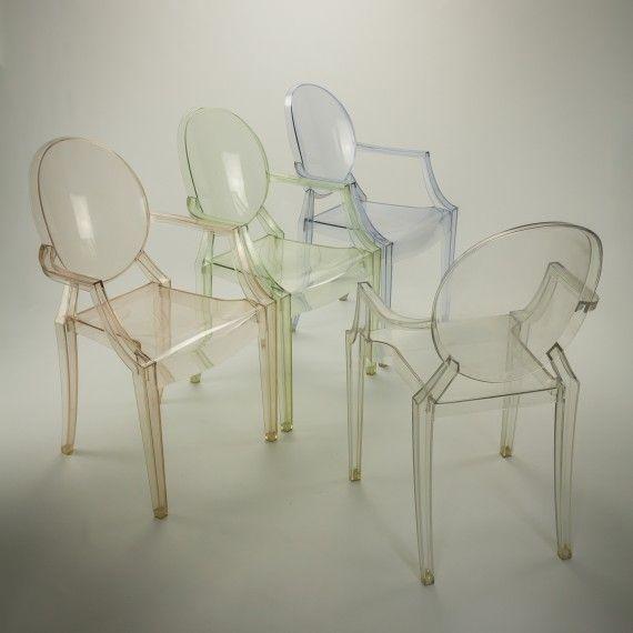 Design Stoelen Philippe Starck.Philippe Starck Voor Kartell 4 X Louis Ghost Design Stoel