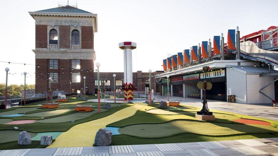 The Roof Ponce City Market Bar Atlanta Atlanta Bars Best Rooftop Bars Ponce City Market Atlanta