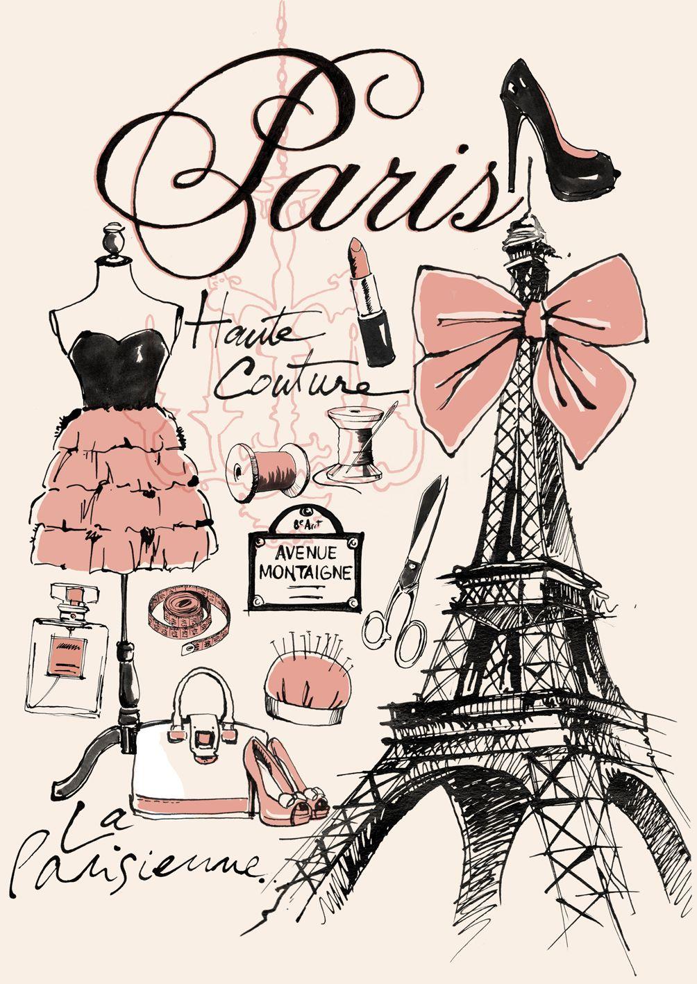Pin by Dawn Searles on Paris | Paris wallpaper, Paris illustration, Paris art