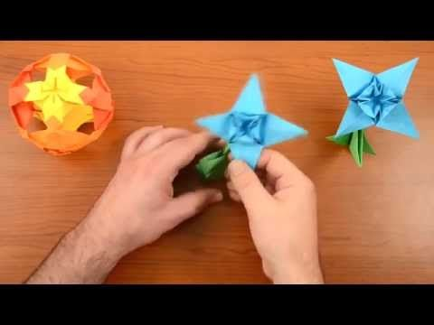 Easy origami flower edelweiss how to make an origami flowers easy origami flower edelweiss how to make an origami flowers youtube mightylinksfo Gallery