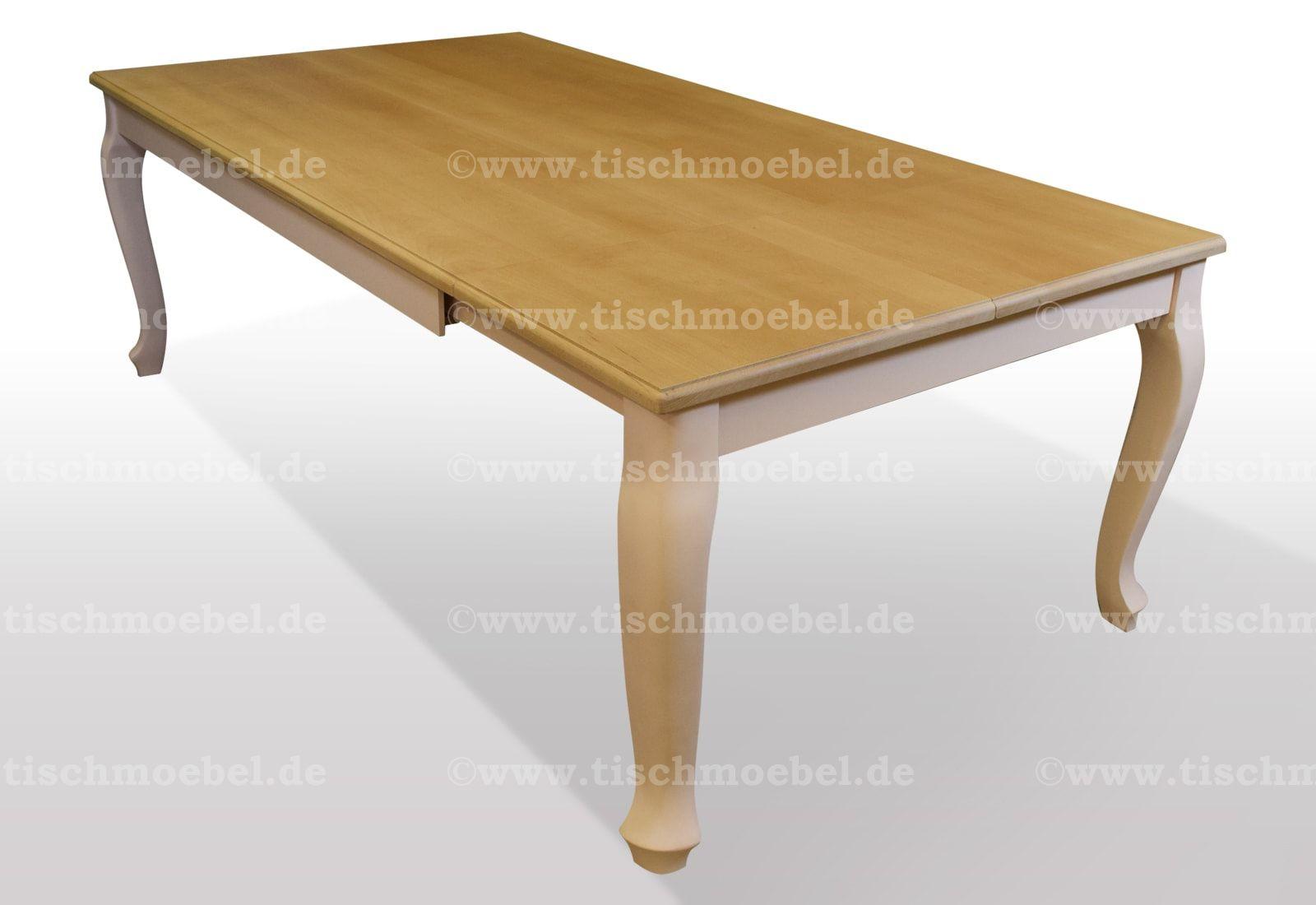 Tisch Buche massiv Breite 120cm / Länge wählbar