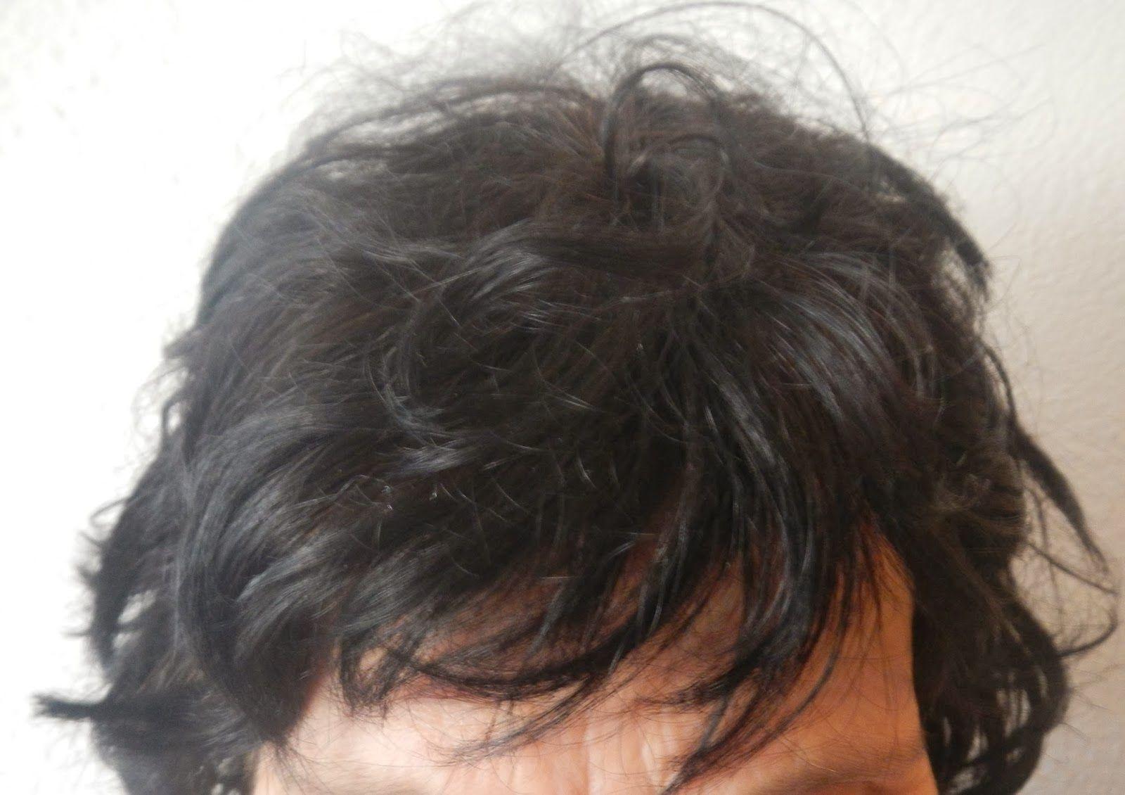 Coloration brune cheveux blanc