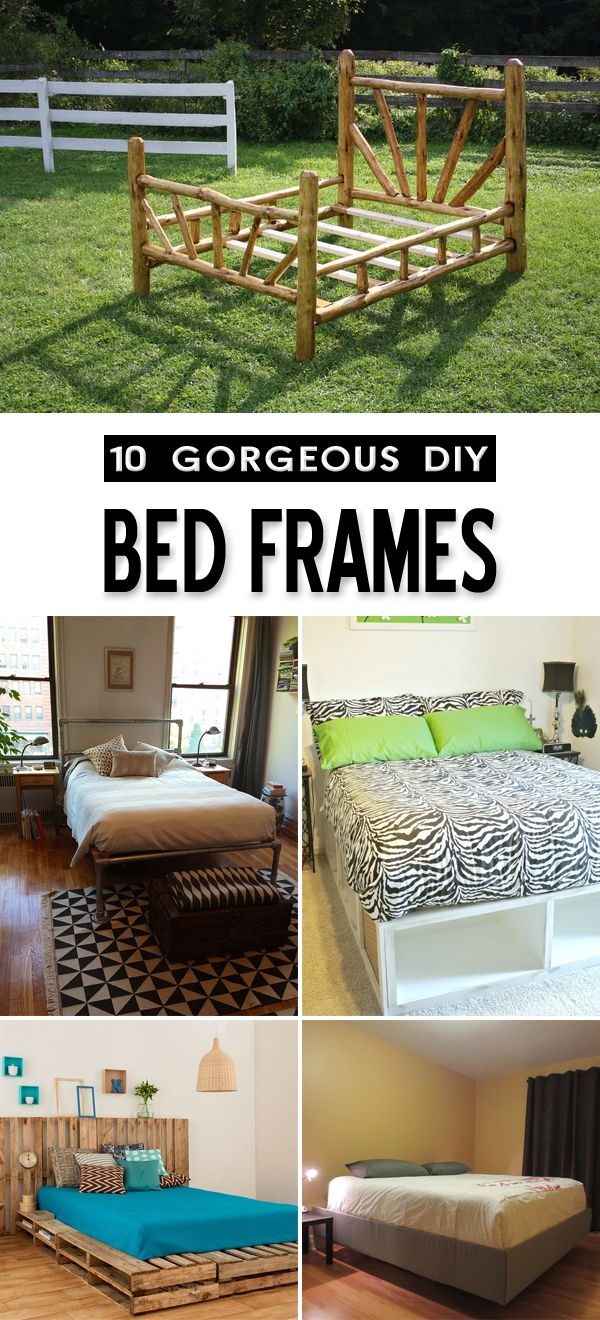 10 Gorgeous Ideas For Bed Frames That You Can Diy Decoration Diy