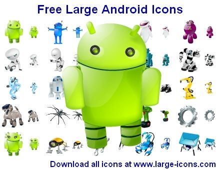 Free Large Android Icons by Ikonod.deviantart.com on @deviantART