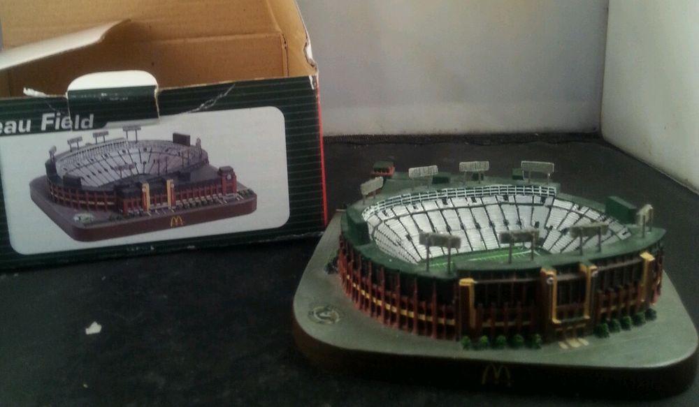 9e6491ec9b2 McDonalds Green Bay Packers Lambeau Field Stadium Replica 2003 NFL  Collectible