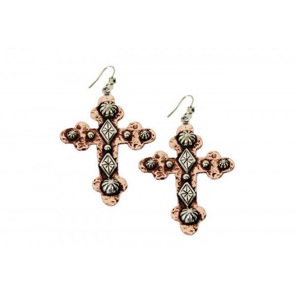 GS Copper Logo Earrings