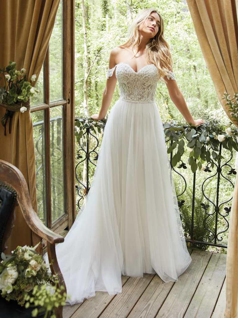 Nia by Rebecca Ingram Wedding Dresses   A line wedding dress ...