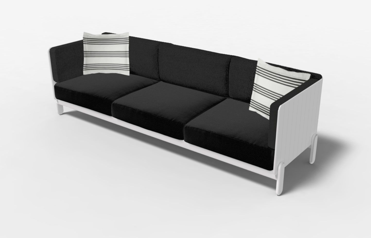 Part Of Loll Designs Sunnyside Collection Of Modern Outdoor Patio Furniture Loll S First Upholstered Line This Outdoor So Furniture Furniture Design Outdoor Sofa
