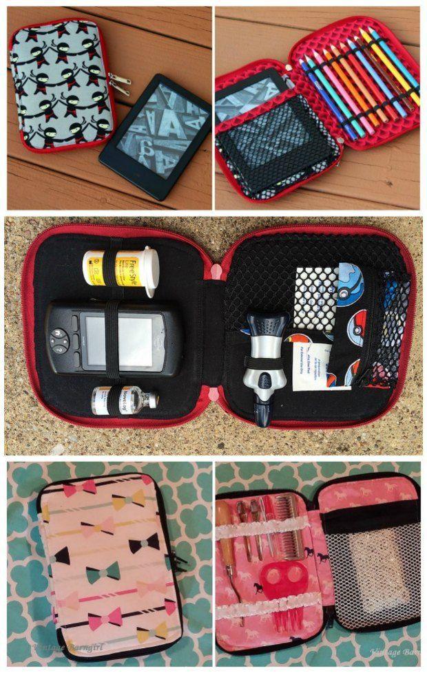 Creative Maker Supply Cases | Pinterest | Nähen, Beutel und gute Ideen