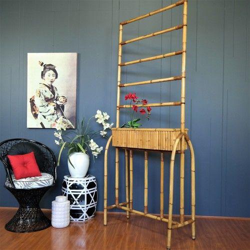 1950s Bamboo Outdoor Furniture, Retro Cane Outdoor Furniture, Retro Outdoor  Furniture, Vintage Outdoor