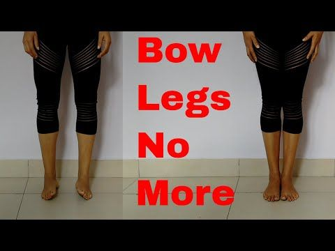 3 yoga exercises for bow legs  bow legs no more  youtube