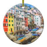 Riomaggiore Cinque Terre Italy Holiday Ornament  Riomaggiore Cinque Terre Italy Holiday Ornament  $17.85  by Canvasables  . More Designs http://bit.ly/2fwNuVk #zazzle