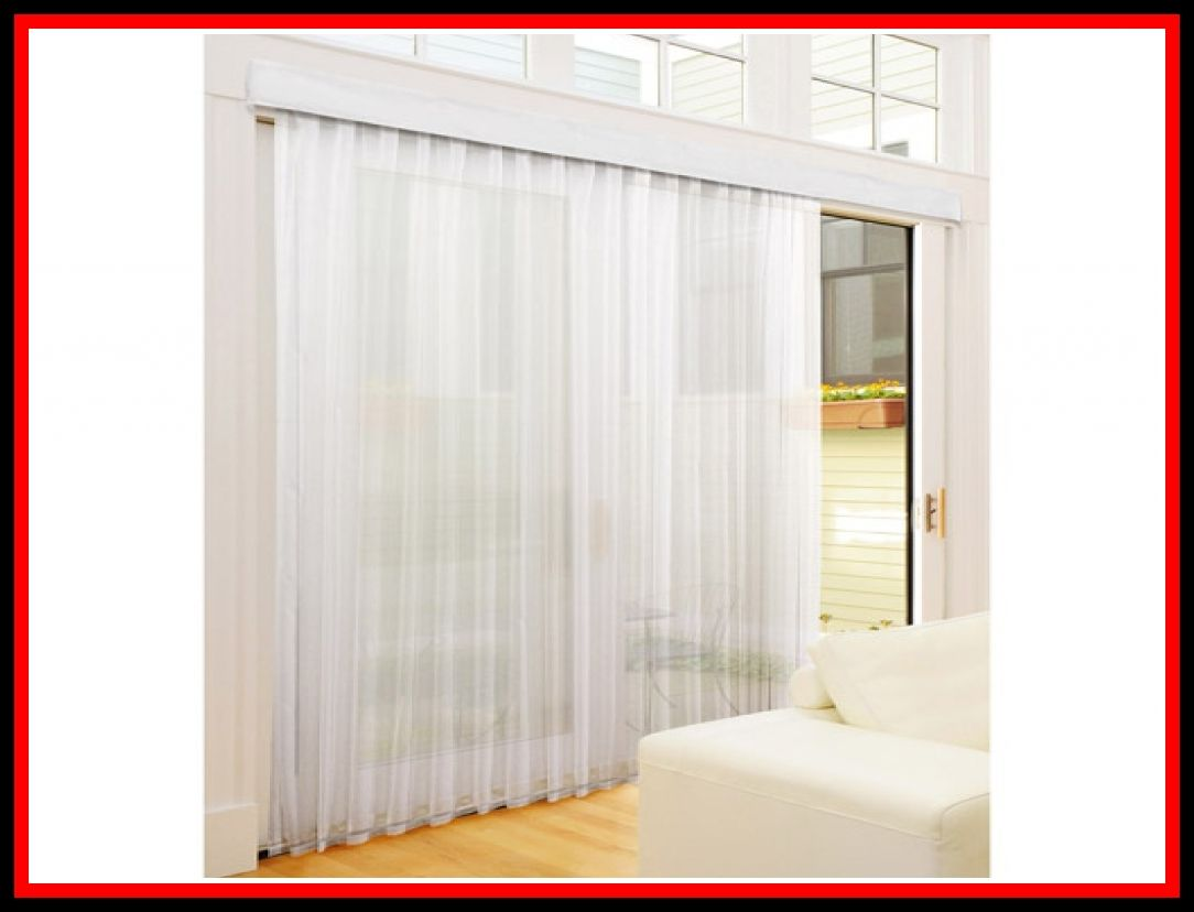 54 Reference Of Vertical Blinds With Sheer Curtains Attached In