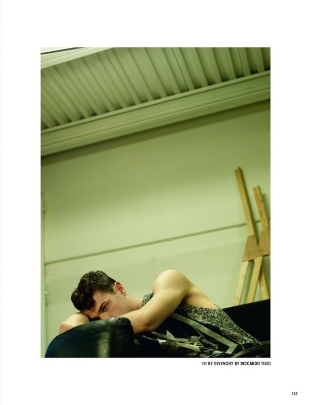 """before you kill us all: EDITORIAL 10 Men Magazine #35 """"Into My Arms"""" by Benjamin Lennox"""