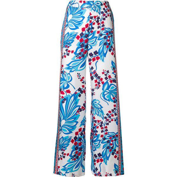 floral print trousers - Multicolour P.A.R.O.S.H. N8mpx1