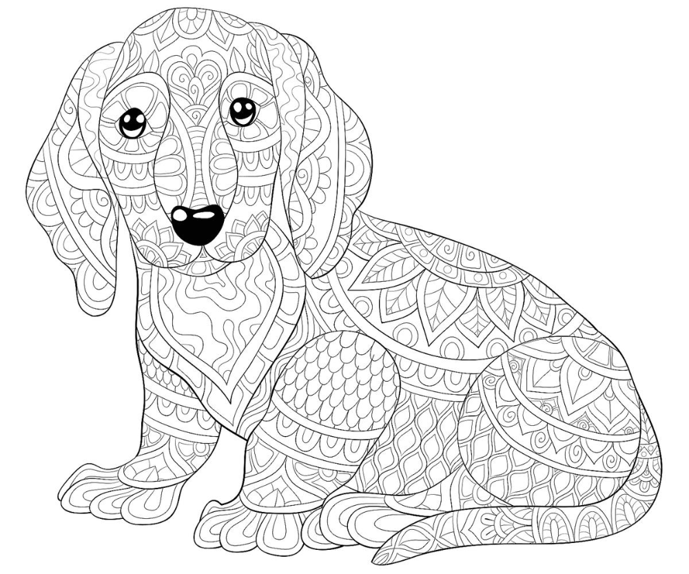 Dog Coloring Pages Free Printable Coloring Pages Of Dogs For Dog Lovers Of All Ages Printables 30seconds Mom Dog Coloring Page Puppy Coloring Pages Animal Coloring Pages [ 833 x 1000 Pixel ]