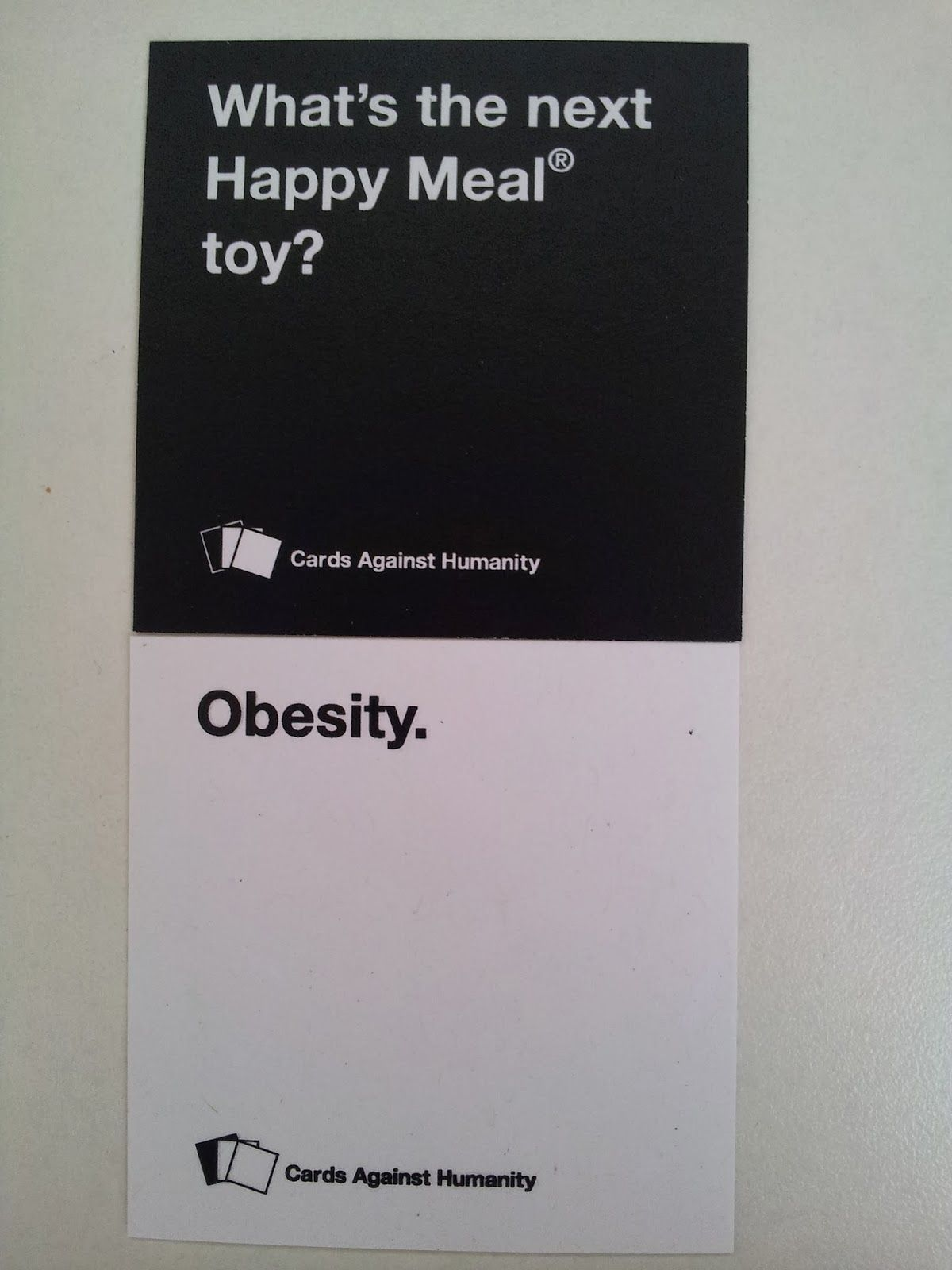 Funny Cards Against Humanity Meme : Cards against humanity funny pairings which one s your