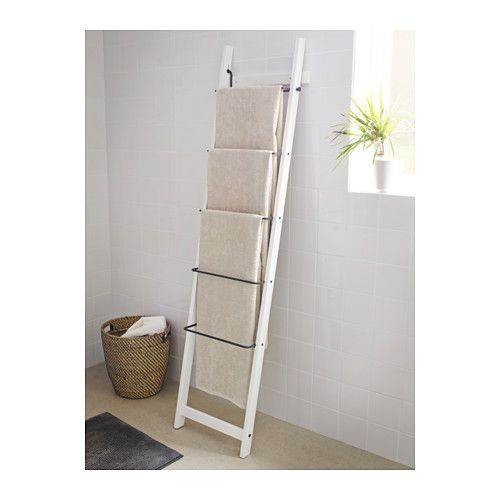 Ikea Handtuchständer hjälmaren towel holder white ikea oc less is more